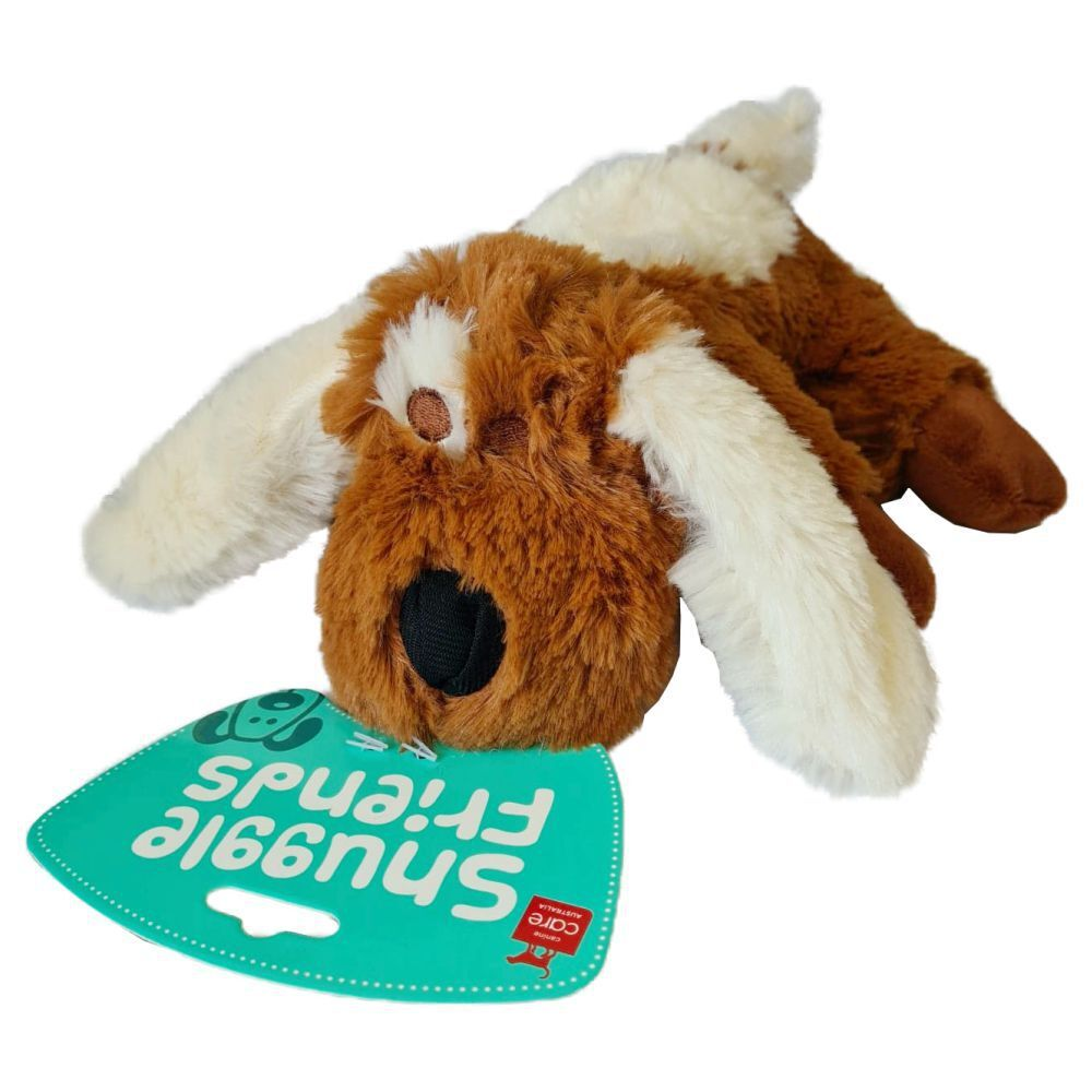 Snuggle Friends Plush Brown Dog Small Toy image