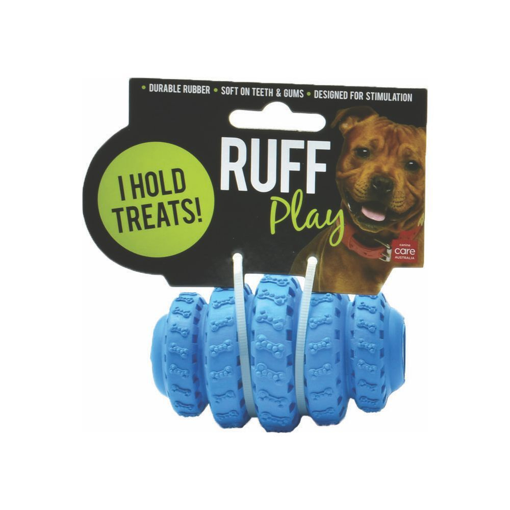 Ruff Play Tyre Roller Treat Dog Toy image
