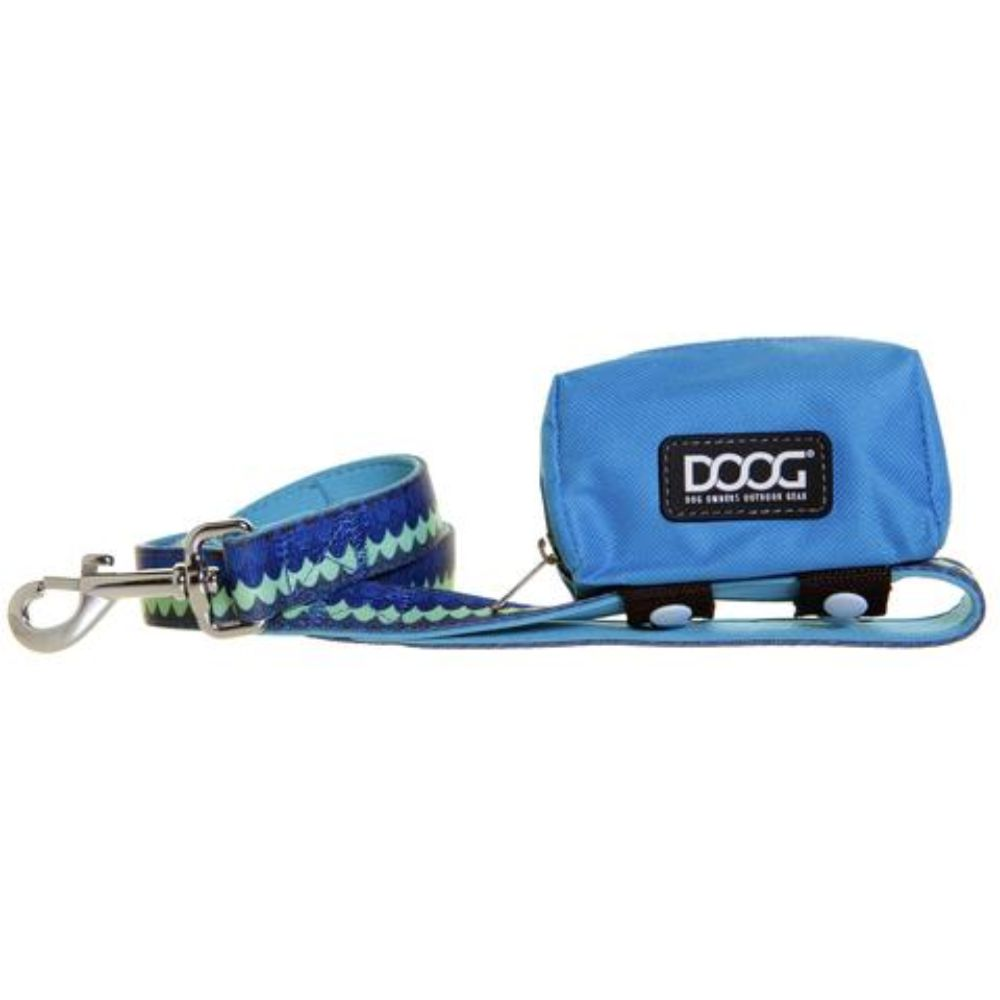 DOOG Walkie Pouch Aqua and Brown image