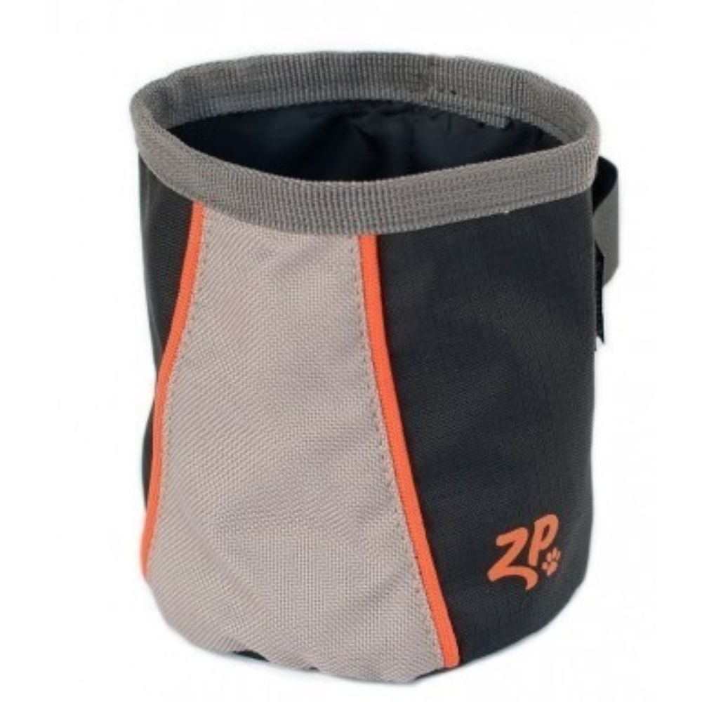 Zippy Paws Adventure Gear Treat and Ball Bag Volcano Black image