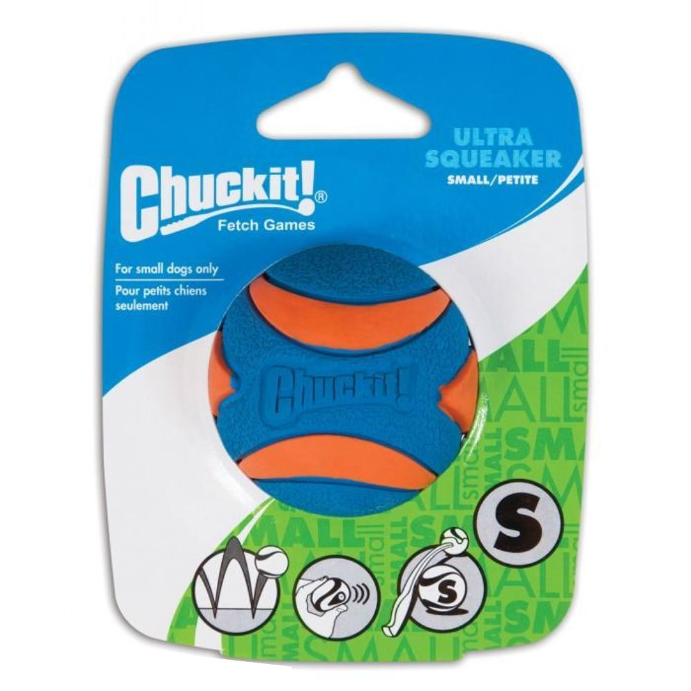 Chuckit! Ultra Squeaker Ball 1 Pack Small