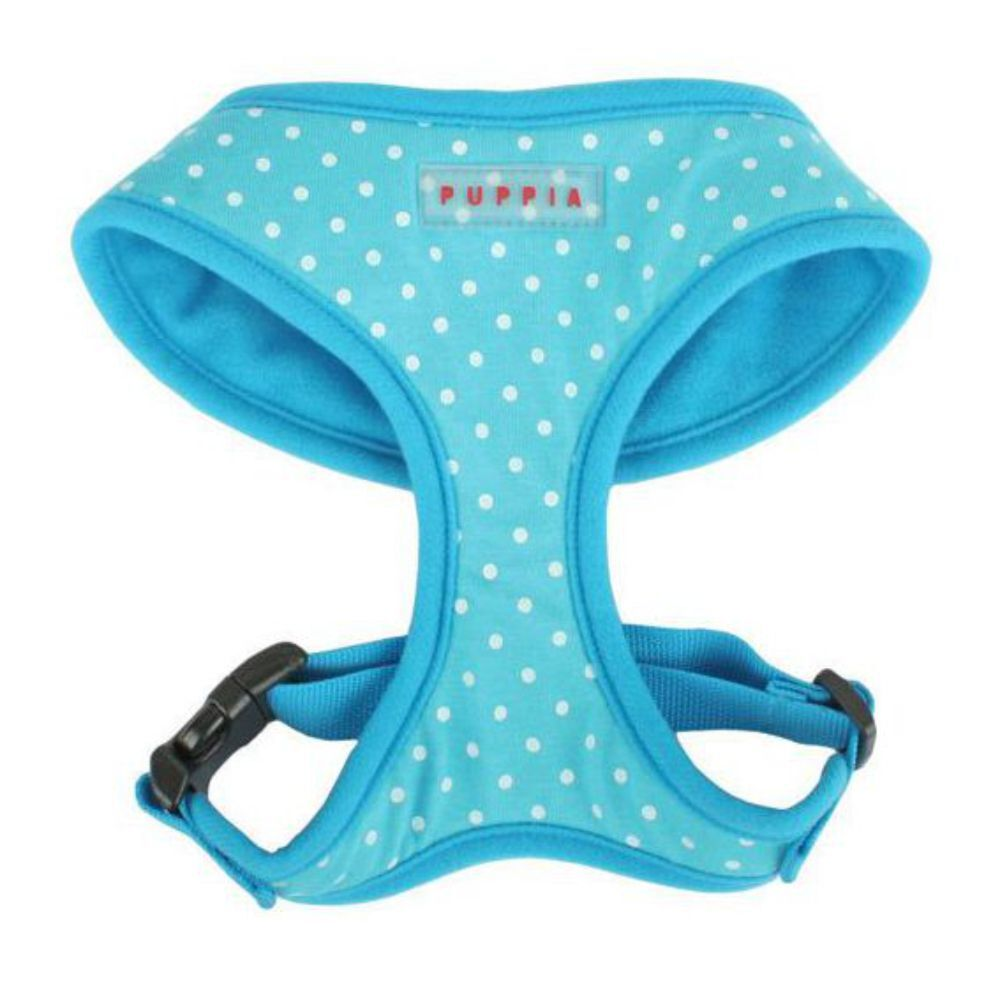 Puppia Dotty Dog Harness Blue (Large)