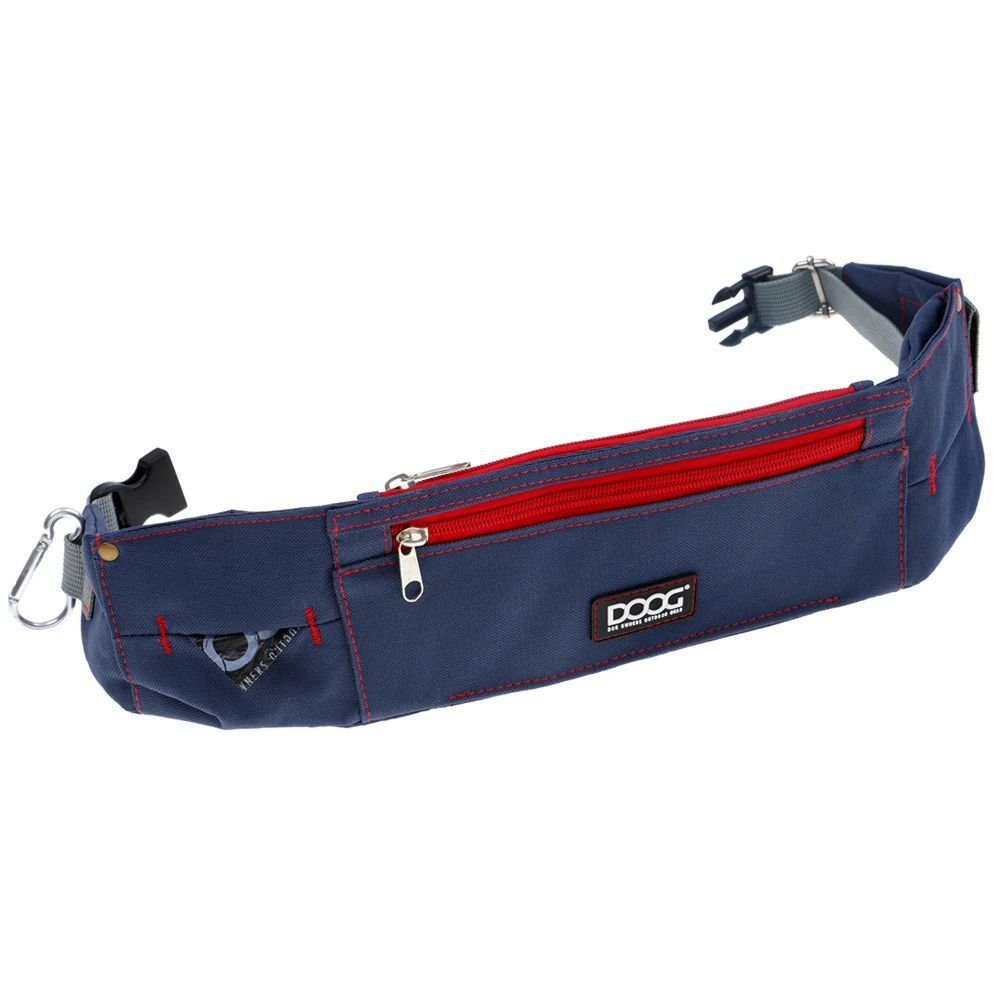 DOOG Walkie Belt Navy and Red