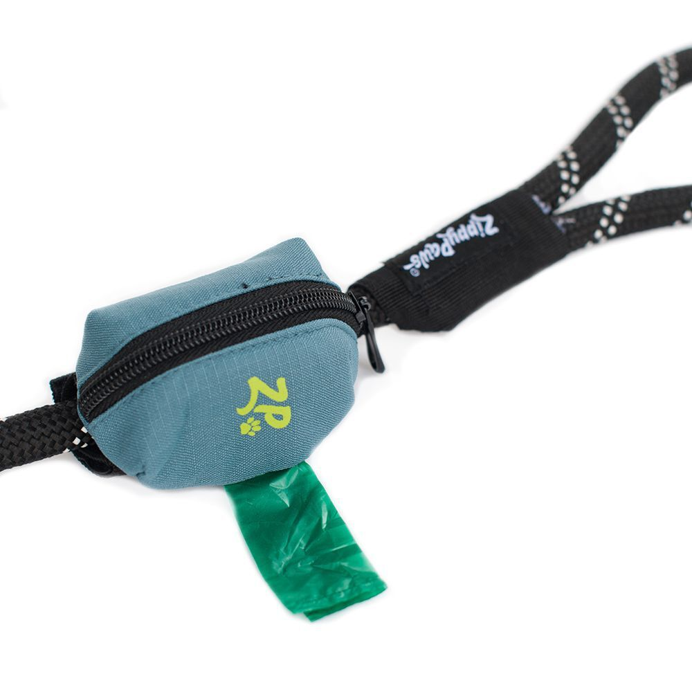 Zippy Paws Adventure Gear Poo Bag Dispenser - Forest Green